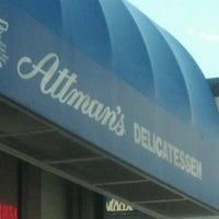 Photo taken at Attman's Authentic New York Delicatessen by Anthony O. on 2/27/2012