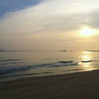 Photo taken at Pantai Puteri by Dak A. on 6/25/2012