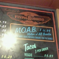 Photo taken at The Flying Burrito Company by kelly p. on 7/1/2012