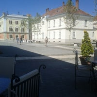 "Photo taken at Universitatea ""1 Decembrie 1918"" Alba Iulia by Andréia M. on 8/30/2012"