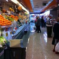 Photo taken at Mercado Villa de Vallecas by Guillermo L. on 11/12/2011