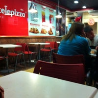 Photo taken at Telepizza by Knary on 10/19/2011