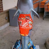 """Photo taken at """"Plunge"""" Dolphin on Parade @ The Home Depot by Chad E. on 7/9/2011"""