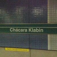 Foto tirada no(a) Estação Chácara Klabin (Metrô) por 'Shirley I. em 8/17/2012