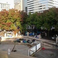 Photo taken at Kanawha Plaza by Mariah G. on 10/18/2011