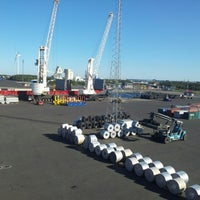Photo taken at Outokumpu Tornio Works by Oleg S. on 8/14/2012