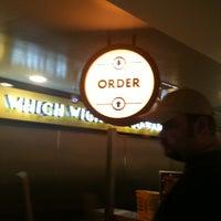 Photo taken at Which Wich? Superior Sandwiches by Maya G. on 7/3/2011
