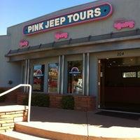 Photo taken at Pink Jeep Tours Sedona, AZ by Julia M. on 10/14/2011