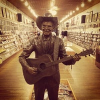 Photo taken at Ernest Tubb Record Shop by Beau C. on 11/4/2011
