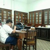 Photo taken at Biblioteca do Colégio Sion by Antonio M. on 3/8/2012