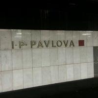 Photo taken at Metro =C= I. P. Pavlova by Martin O. on 9/6/2012
