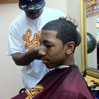 Photo taken at Levels Barbershop by Ashley L. on 9/3/2011