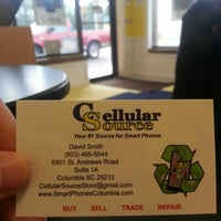 Photo taken at Cellular Source - Irmo by Broc B. on 8/30/2012