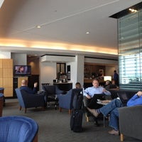 Photo taken at Delta Sky Club by Jamie S. on 4/26/2012