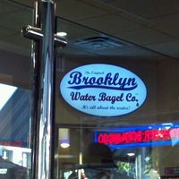 Photo taken at The Original Brooklyn Water Bagel Co. by Maurice S. on 12/30/2011