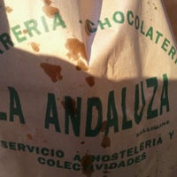 Photo taken at La Andaluza by Alberto M. on 1/1/2012