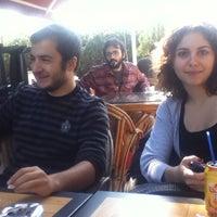 Photo taken at Teras Cafe (Beyaz Kale) by Andaç Baran C. on 10/20/2011