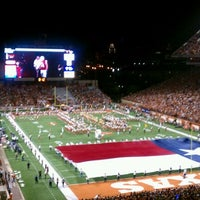 Photo taken at Darrell K Royal-Texas Memorial Stadium by Kevin R. on 11/20/2011