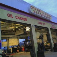 Photo taken at City Tire And Service by Brittany M. on 12/12/2011