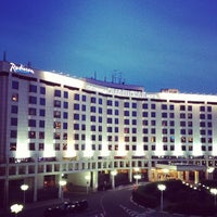 Photo taken at Radisson Slavyanskaya by Алексей on 6/25/2012