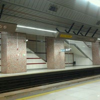 Photo taken at Metro - Michelena by Carlos O. on 6/3/2011