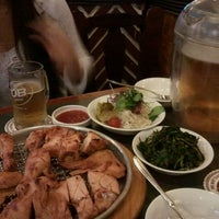 Photo taken at 비어할레 / Bier Halle by Brian B. on 9/22/2011