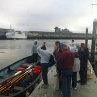 Photo taken at Mariposa Hunters Point Yacht Club by Alice M. on 6/3/2012