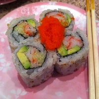 Photo taken at Sushi Station by Brett on 8/24/2012