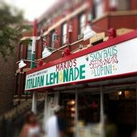 Photo taken at Mario's Italian Lemonade by Nicole S. on 8/31/2012