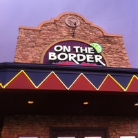 Photo taken at On The Border Mexican Grill & Cantina by Leigh R. on 7/4/2012