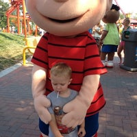 Photo taken at Camp Snoopy by Rachel W. on 7/11/2012