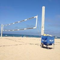 Photo taken at Marine St. Beach Scope by Ann S. on 7/21/2012