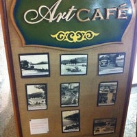 Photo taken at Art Café by Guillermo R. on 10/2/2011