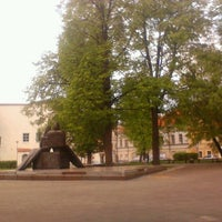 Photo taken at Rūdninkų skveras by Andrew S. on 5/6/2012