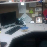 Photo taken at Traci's Cubicle by Traci W. on 12/23/2011