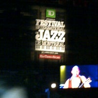 Photo taken at Festival International de Jazz de Montréal 2011 by Myrna on 7/2/2011
