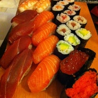 Photo taken at Sushi Sano by Christian E. on 8/27/2011
