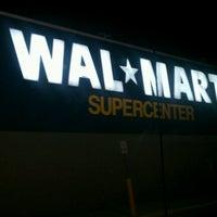 Photo taken at Walmart Supercenter by Brandie B. on 12/27/2011