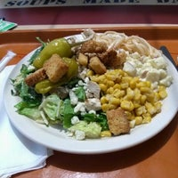 Photo taken at Sweet Tomatoes by Jon S. on 4/15/2012