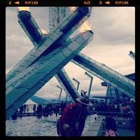 Photo taken at Jack Poole Plaza by Dean N. on 7/1/2012