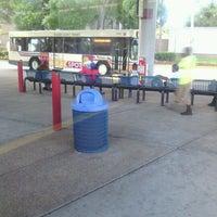 Photo taken at Votran Transfer Station by Marie K. on 8/4/2012