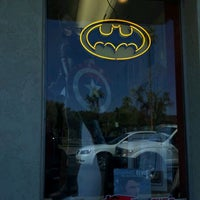 Photo taken at Drawn to Comics by Angel C. on 3/31/2012