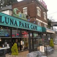 Photo taken at Luna Park Cafe by Rebecca R. on 3/11/2012