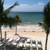 Photo taken at Blue Diamond Riviera Maya by Anne L. on 5/29/2012
