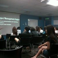 Photo taken at Lecture Theatre 7 (LT7) by Lim B. on 2/25/2012