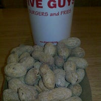 Photo taken at Five Guys by Courtney C. on 10/21/2011