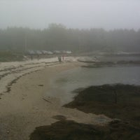 Photo taken at Hendricks Head Beach by Adam S. on 5/29/2011