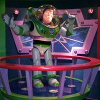 Photo taken at Buzz Lightyear Astro Blasters by Rosa S. on 12/5/2011