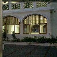 Photo taken at Masjid Nurul Irfan UNJ by Irma W. on 10/25/2011