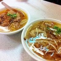 Photo taken at 阿宗魚翅肉焿 by Will W. on 7/10/2012